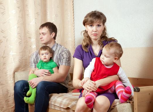 גירושין והילדים